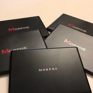 FIVE MORPHE palettes